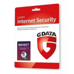 G Data Internet Security 3PC 1ROK - Odnowienie
