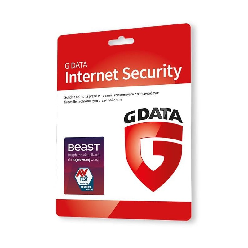 G Data Internet Security 2015 1ROK 3PC Odnowienie