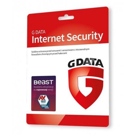 G Data Internet Security 3PC 1ROK - Odnowienie